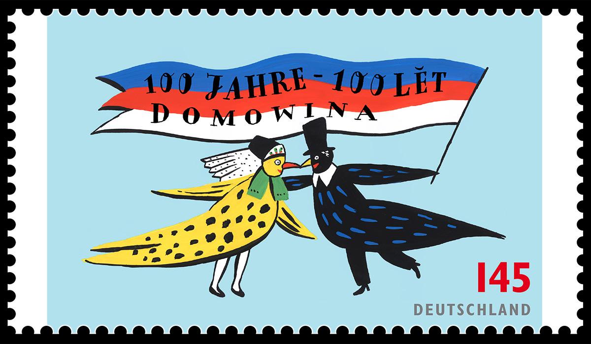 stamp-domowina